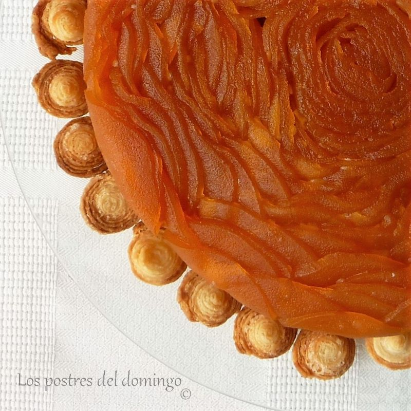 tarta Tatin de William Lamagnère_deta