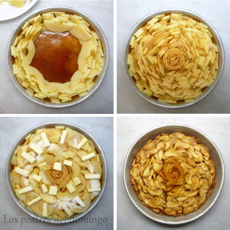 tarta Tatin de William Lamagnère_montaje