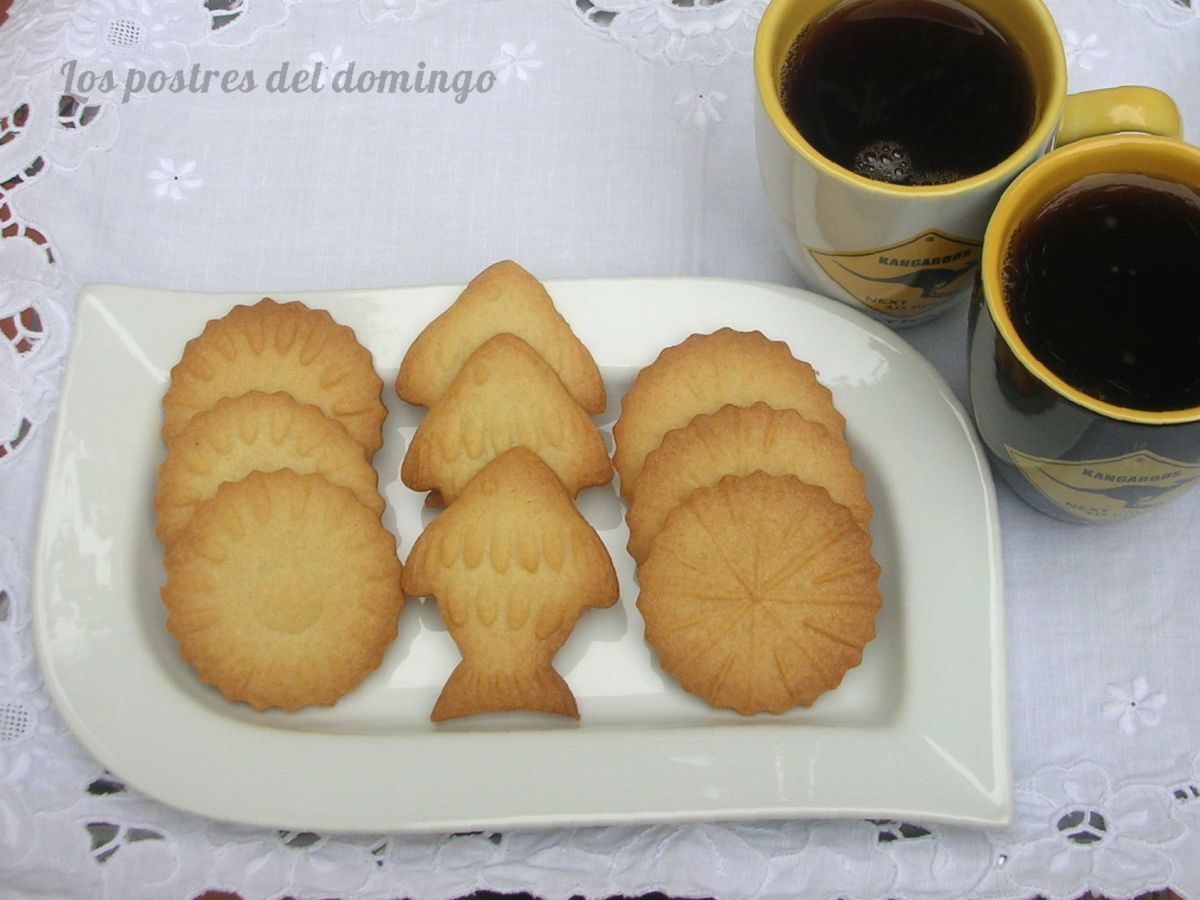 Galletas con relieve