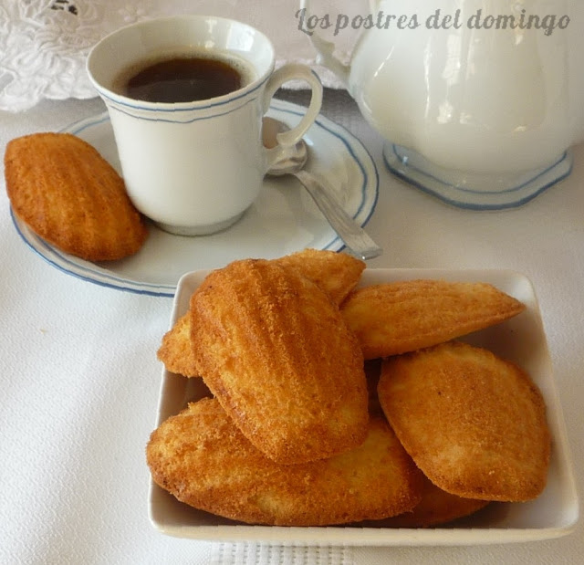 magdalenas de Commercy
