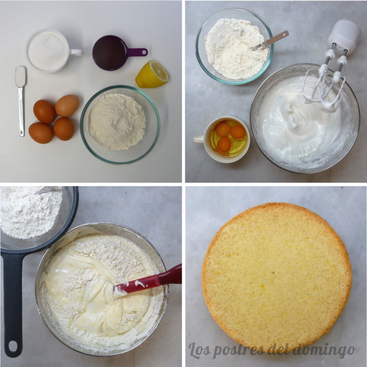 Lemon drizzle cake ingredientes