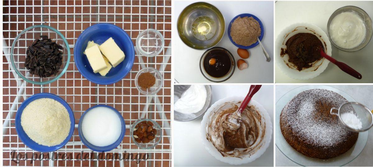 Torta caprese ingredientes