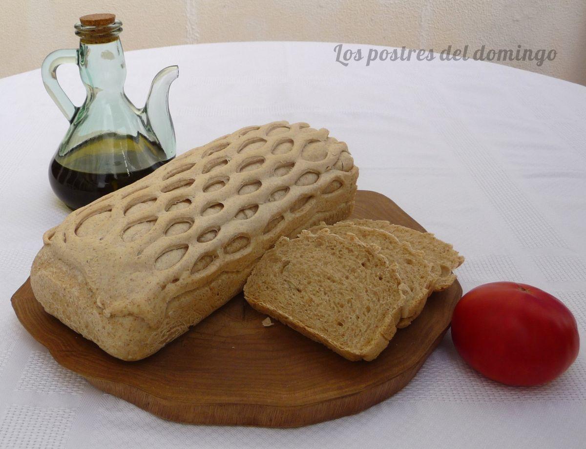 Pan de molde vestido de fiesta