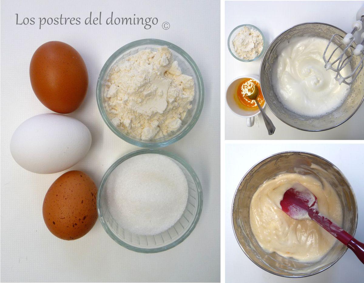 Bizcochos de soletilla ingredientes