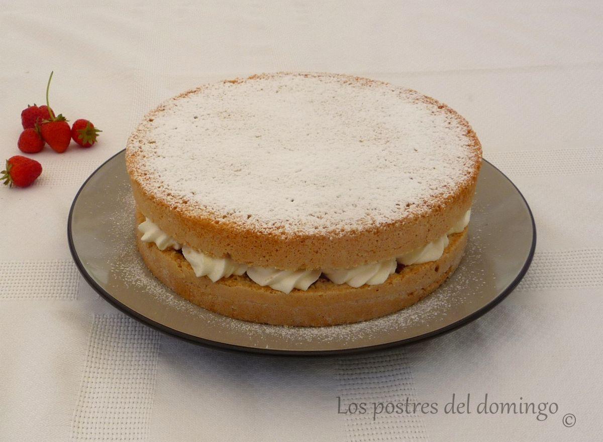 Vicroria sponge cake