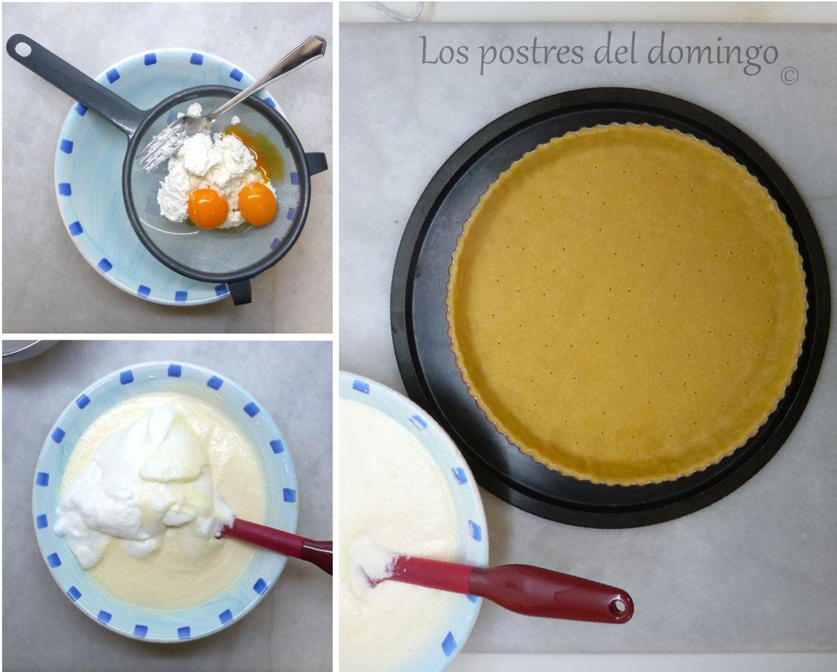 pastel de queso alemán ingredientes