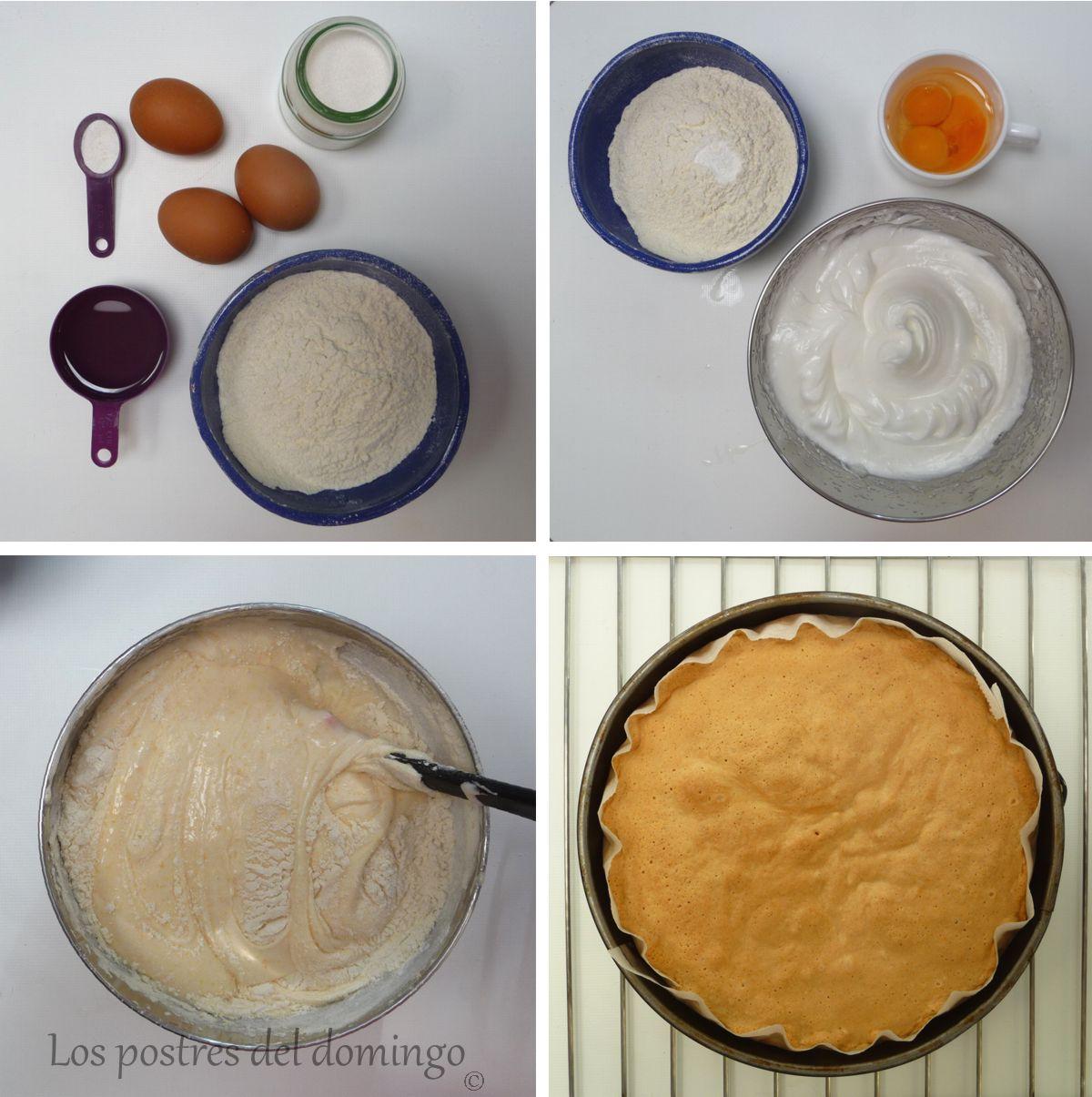 tarta de melocotón en almíbar ingredientes
