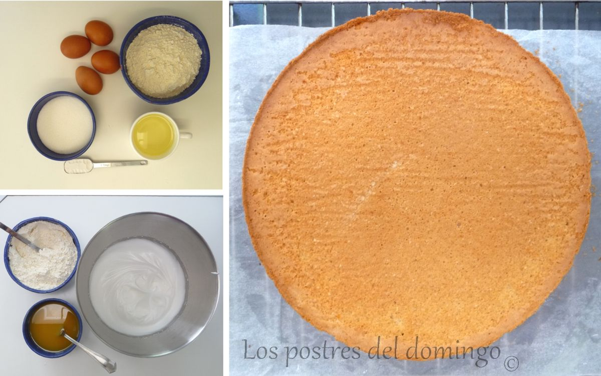 tarta reloj ingredientes