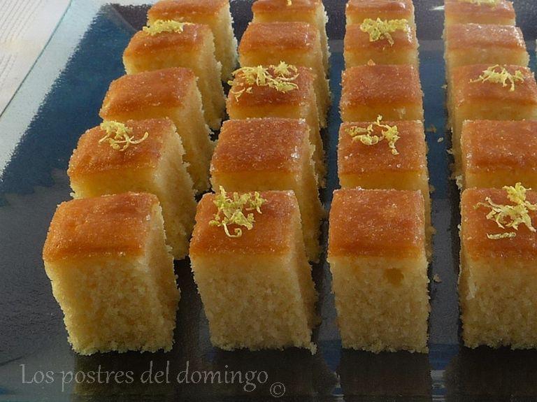 cuadrados de lemon drizzle_deta