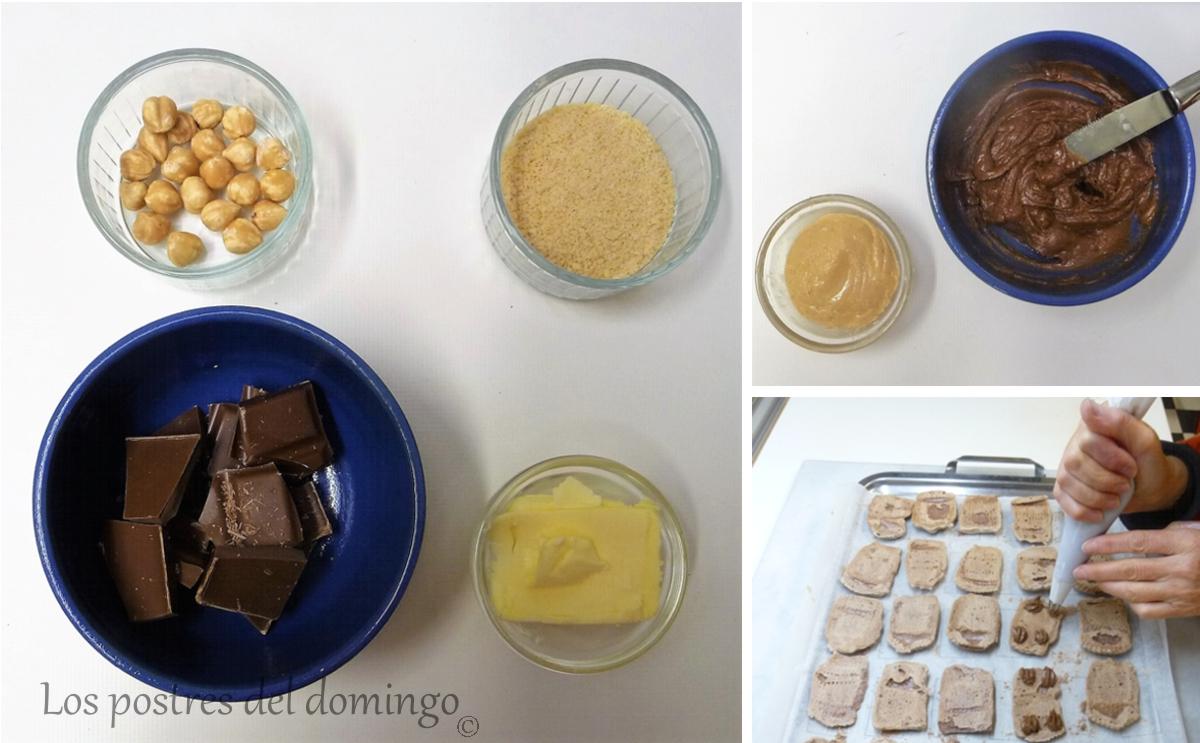 merengue de cacao relleno