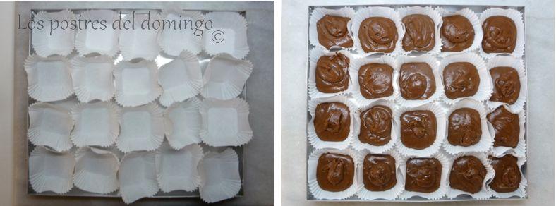 magdalenas de chocolate_montaje