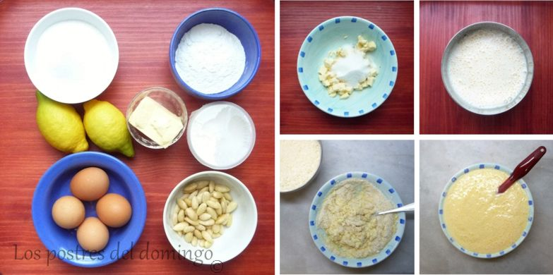 pasteles de requesón y limón_montaje