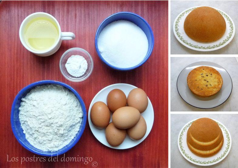 Tarta búho_ingredientes