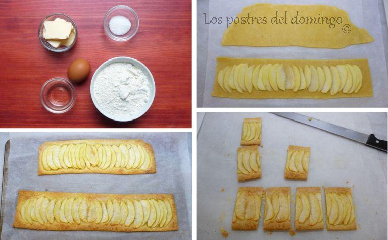 Rectángulos de manzana_ingredientes