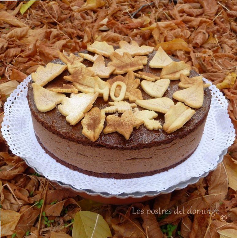 tarta de trufa otoñal