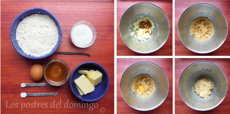 galletas de caramelo salado ingredientes