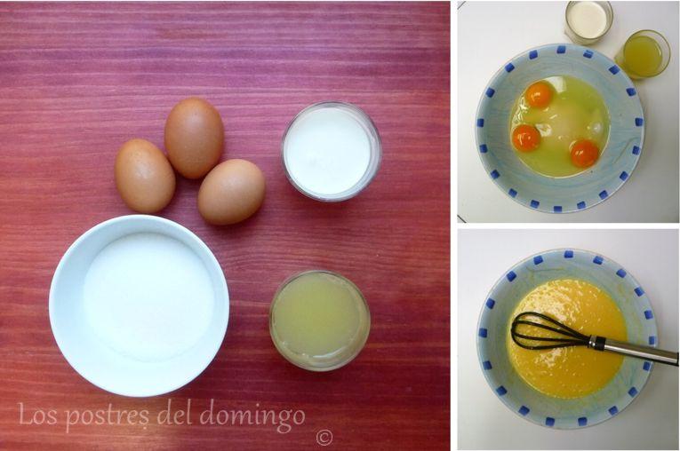 tartaletas clásicas de limon_ingredientes