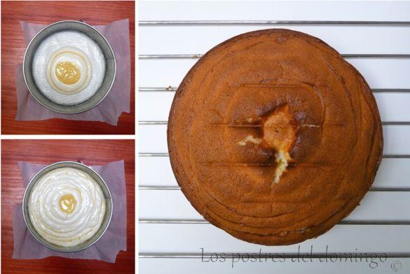 Bizcocho de limón y naranja_montaje