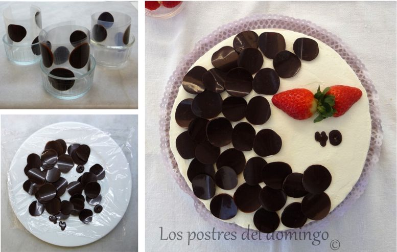 tarta de chocolate, nata y fresas_montaje_2