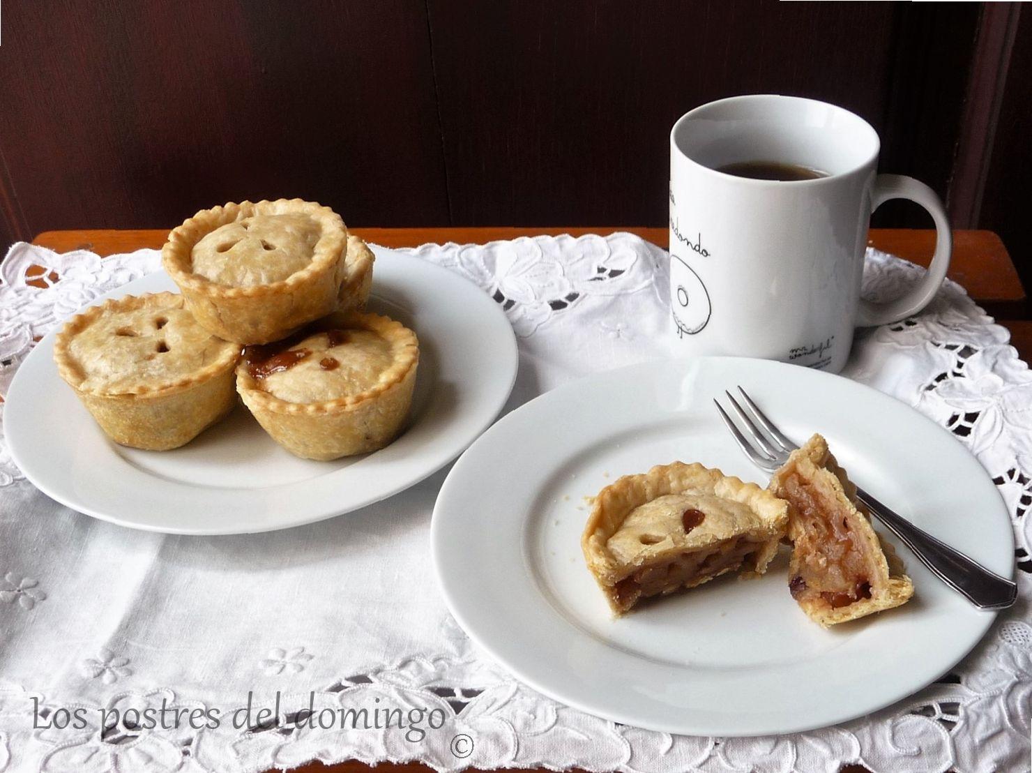 tartitas de manzana