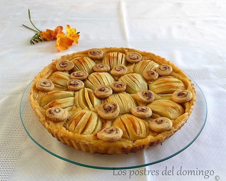 tarta de manzana y limon