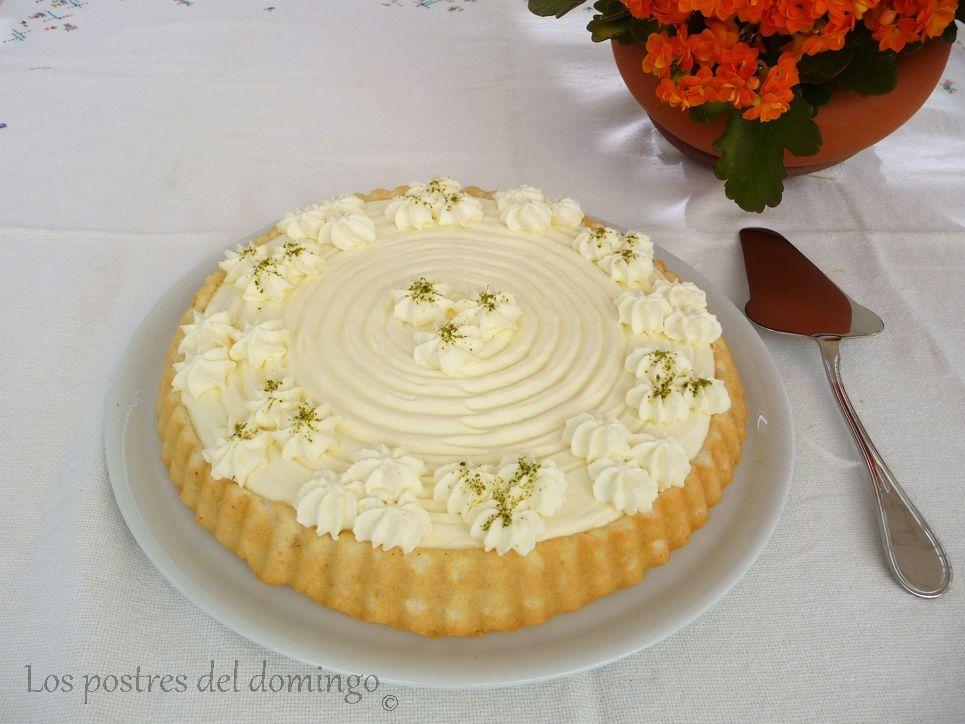 tarta de mousse de lima