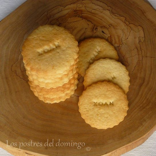 galletas de agua de azahar