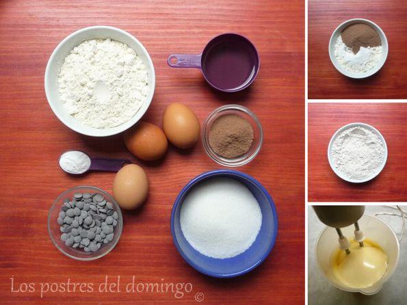 magdalenas de cacao soluble_ingredientes