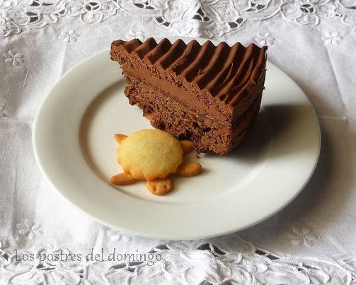 tarta de frutos secos con trufa