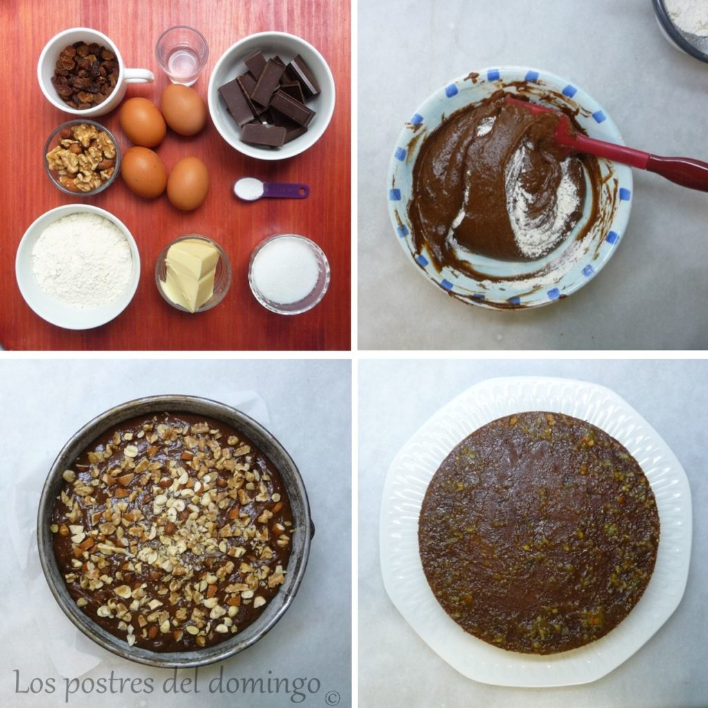 tarta de frutos secos y trufa_ingr