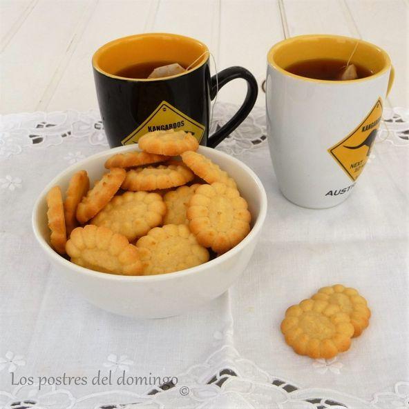 galletas de yema y limón