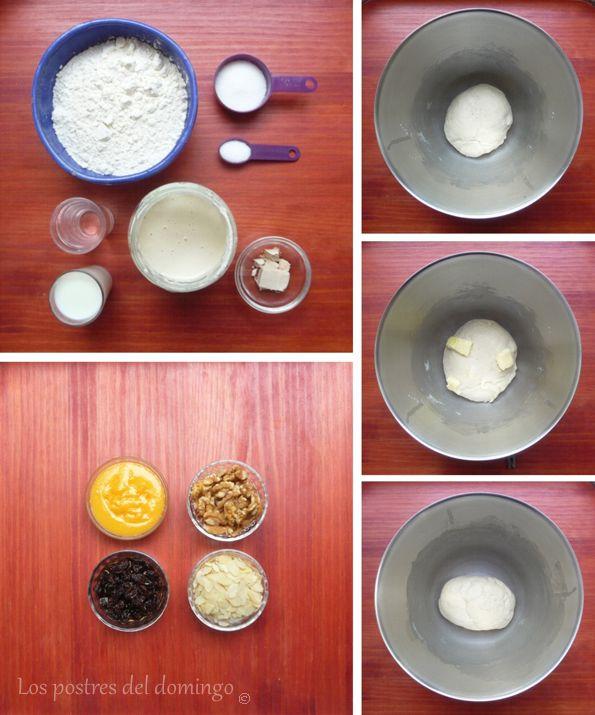 Trenza hojaldrada ingredientes